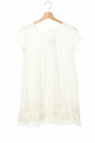 Детска рокля Zara, Размер 12-13y/ 158-164 см, Цвят Екрю, Памук, Цена 39,90лв.