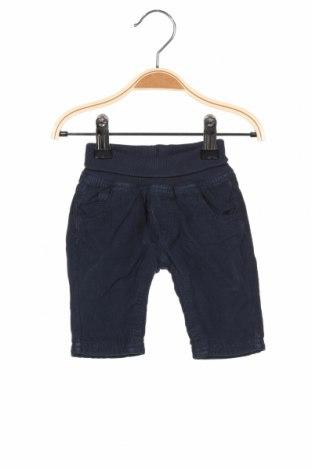 Детски панталон Kanz, Размер 1-2m/ 50-56 см, Цвят Син, Памук, Цена 33,60лв.