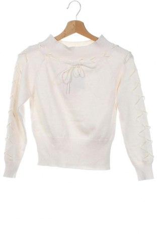 Dětský svetr , Velikost 10-11y/ 146-152 cm, Barva Bílá, Cena  622,00Kč