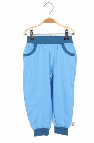 Pantaloni de trening, pentru copii Lamino, Mărime 18-24m/ 86-98 cm, Culoare Albastru, 95% bumbac, 5% elastan, Preț 96,22 Lei
