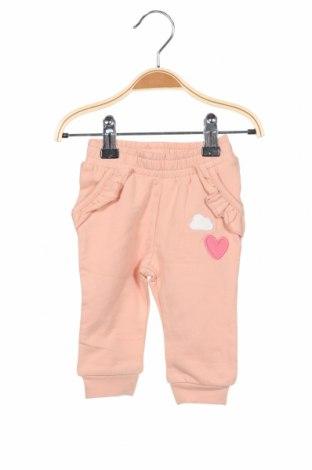 Детско спортно долнище Name It, Размер 1-2m/ 50-56 см, Цвят Розов, 95% памук, 5% еластан, Цена 25,20лв.