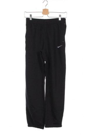Dětské tepláky Nike, Velikost 10-11y/ 146-152 cm, Barva Černá, 76% bavlna, 24% polyester, Cena  750,00Kč