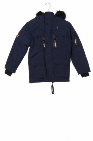 Dětská bunda  Canadian Peak, Velikost 7-8y/ 128-134 cm, Barva Modrá, Polyamide, Cena  1999,00Kč