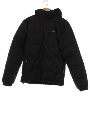 Детско яке Trespass, Размер 11-12y/ 152-158 см, Цвят Черен, Полиестер, Цена 40,42лв.