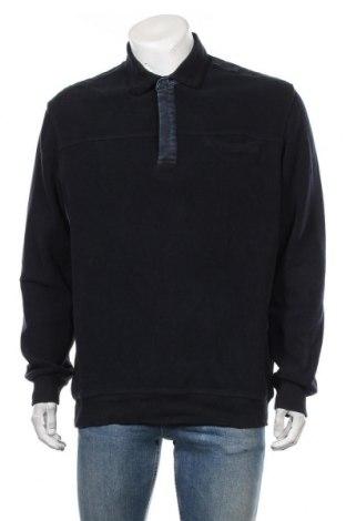 Мъжка блуза Brax, Размер XL, Цвят Син, 50% полиестер, 50% памук, Цена 32,55лв.