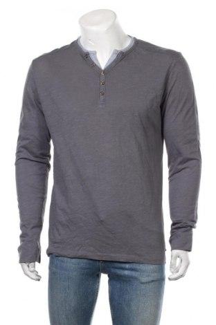 Мъжка блуза Edc By Esprit, Размер M, Цвят Сив, Памук, Цена 27,30лв.