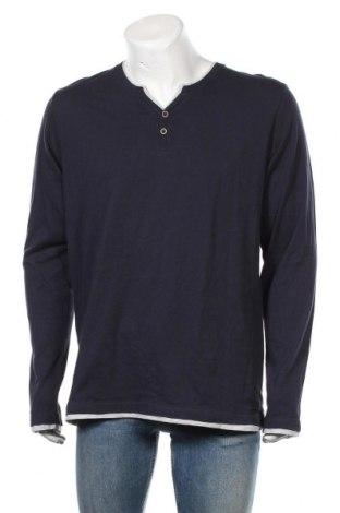 Мъжка блуза Esprit, Размер M, Цвят Син, Цена 27,30лв.