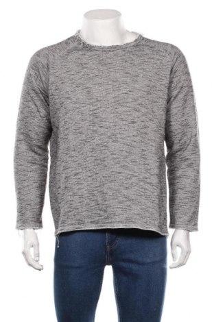 Мъжка блуза Rebel, Размер M, Цвят Сив, 80% памук, 20% полиестер, Цена 27,30лв.