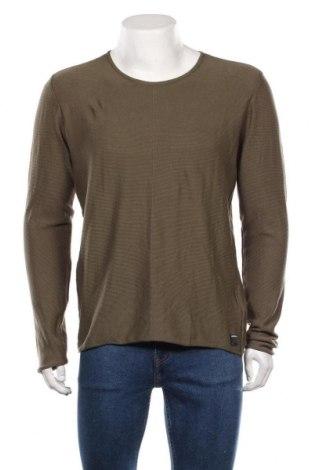Мъжка блуза Replay, Размер L, Цвят Зелен, Памук, Цена 45,15лв.