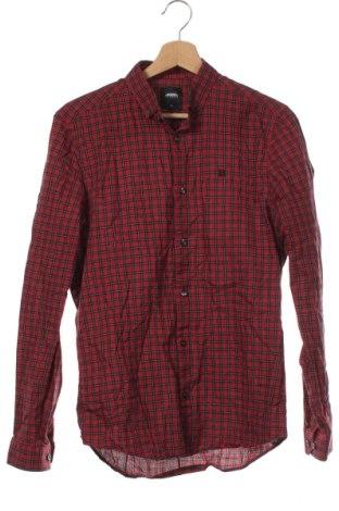 Мъжка риза Burton of London, Размер S, Цвят Червен, Памук, Цена 27,30лв.