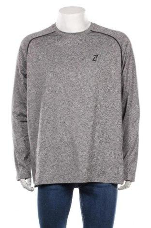 Мъжка спортна блуза Your Turn, Размер XXL, Цвят Сив, 92% полиестер, 8% еластан, Цена 27,30лв.