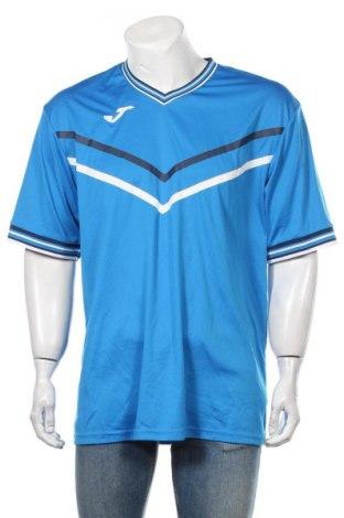 Мъжка тениска Joma, Размер XXL, Цвят Син, Полиестер, Цена 16,80лв.