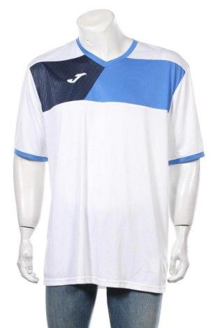 Мъжка тениска Joma, Размер XXL, Цвят Бял, Полиестер, Цена 16,80лв.