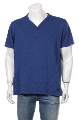 Мъжка тениска S.Oliver, Размер XL, Цвят Син, Памук, Цена 17,85лв.