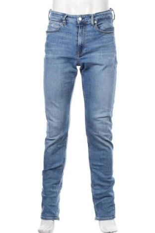 Męskie jeansy Calvin Klein Jeans, Rozmiar M, Kolor Niebieski, 90% bawełna, 2% elastyna, 8% poliester, Cena 344,00zł
