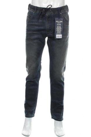 Męskie jeansy Diesel, Rozmiar L, Kolor Niebieski, 98% bawełna, 2% elastyna, Cena 478,00zł