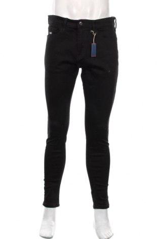Męskie jeansy Tommy Hilfiger, Rozmiar M, Kolor Czarny, 98% bawełna, 2% elastyna, Cena 378,00zł