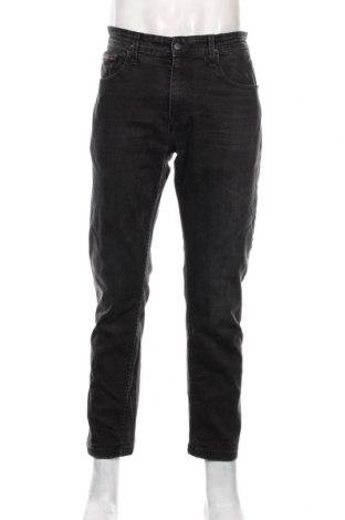 Мъжки дънки Tommy Hilfiger, Размер L, Цвят Черен, 98% памук, 2% еластан, Цена 50,40лв.