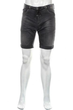 Мъжки къс панталон Le Temps Des Cerises, Размер M, Цвят Сив, Памук, полиестер, еластан, Цена 44,25лв.