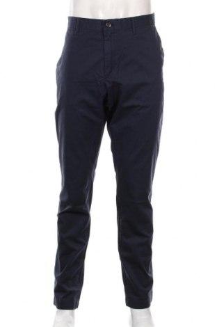 Męskie spodnie Michael Kors, Rozmiar XL, Kolor Niebieski, 97% bawełna, 3% elastyna, Cena 438,00zł