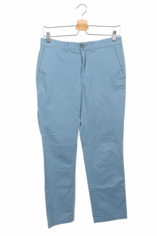 Мъжки панталон Promod, Размер S, Цвят Син, 98% памук, 2% еластан, Цена 35,70лв.