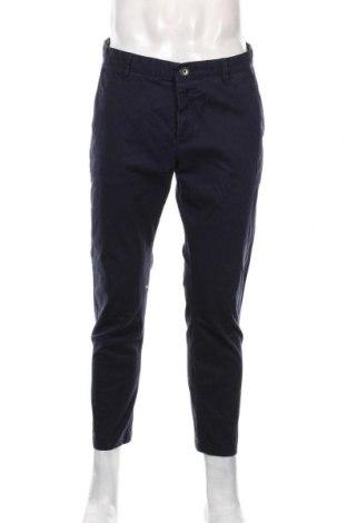 Мъжки панталон Review, Размер L, Цвят Син, 98% памук, 2% еластан, Цена 35,70лв.