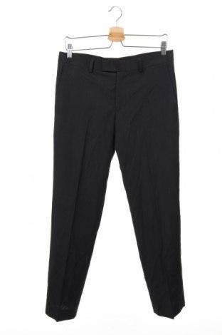 Мъжки панталон S.Oliver, Размер M, Цвят Черен, 80% полиестер, 20% вискоза, Цена 35,70лв.
