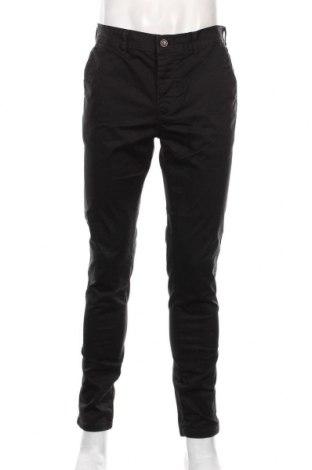 Мъжки панталон Topman, Размер L, Цвят Черен, 98% памук, 2% еластан, Цена 32,55лв.