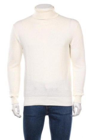 Мъжки пуловер Brave Soul, Размер M, Цвят Екрю, Памук, Цена 33,60лв.