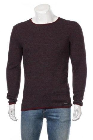 Мъжки пуловер Edc By Esprit, Размер M, Цвят Червен, Памук, Цена 50,40лв.