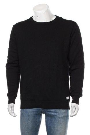 Мъжки пуловер Lindbergh, Размер XL, Цвят Черен, Памук, Цена 29,40лв.