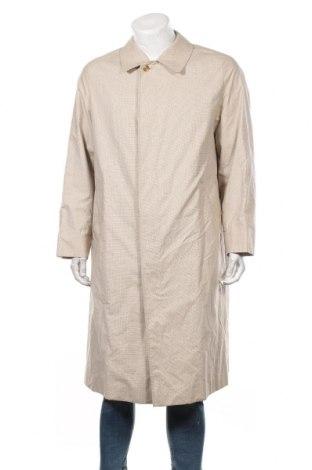 Мъжки шлифер Aquascutum, Размер XL, Цвят Бежов, 52% памук, 48% полиестер, Цена 65,10лв.
