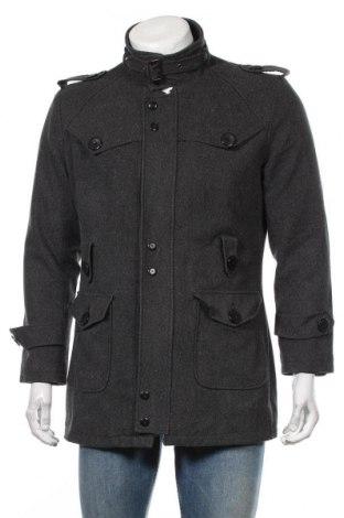 Palton de bărbați, Mărime L, Culoare Gri, Preț 139,26 Lei