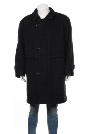 Palton de bărbați, Mărime L, Culoare Negru, Lână, Preț 258,63 Lei