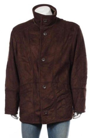 Palton de bărbați, Mărime XL, Culoare Maro, Poliester, Preț 172,42 Lei