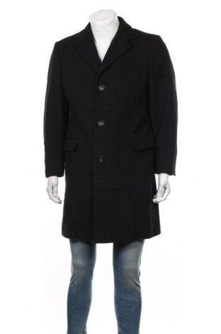 Palton de bărbați Biaggini, Mărime M, Culoare Negru, 70% lână, 30% poliester, Preț 212,21 Lei