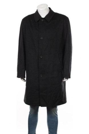 Palton de bărbați Bugatti, Mărime XL, Culoare Negru, 75% lână, 20% poliamidă, 5% cașmir, Preț 305,05 Lei