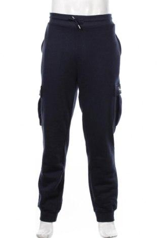 Мъжко спортно долнище Bench, Размер XL, Цвят Син, 60% памук, 40% полиестер, Цена 51,75лв.