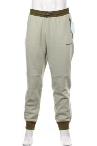Męskie spodnie sportowe Columbia, Rozmiar L, Kolor Zielony, 80% bawełna, 20% poliester, Cena 238,00zł