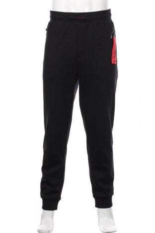 Męskie spodnie sportowe Hugo Boss, Rozmiar XXL, Kolor Czarny, 97% bawełna, 3% elastyna, Cena 518,00zł