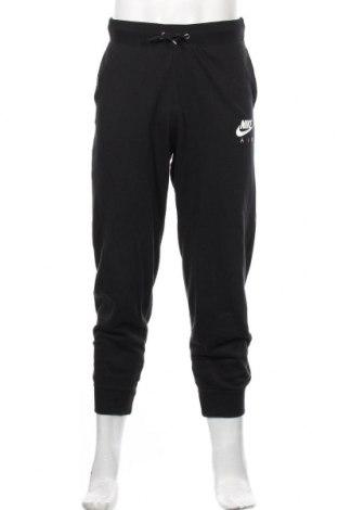 Męskie spodnie sportowe Nike, Rozmiar S, Kolor Czarny, 80% bawełna, 20% poliester, Cena 164,00zł