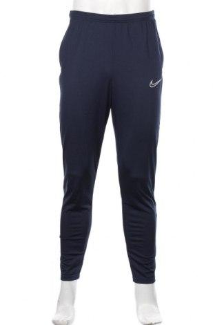 Męskie spodnie sportowe Nike, Rozmiar M, Kolor Niebieski, Poliester, Cena 198,00zł