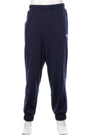 Męskie spodnie sportowe PUMA, Rozmiar XL, Kolor Niebieski, Poliester, Cena 184,00zł