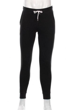 Męskie spodnie sportowe Pier One, Rozmiar S, Kolor Czarny, 80% bawełna, 20% poliester, Cena 96,00zł