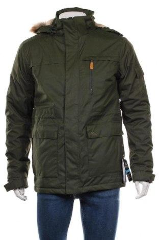 Мъжко спортно яке Trespass, Размер M, Цвят Зелен, Полиестер, Цена 125,56лв.