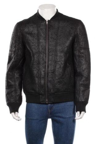 Мъжко яке Armani Exchange, Размер L, Цвят Черен, Полиуретан, Цена 97,65лв.