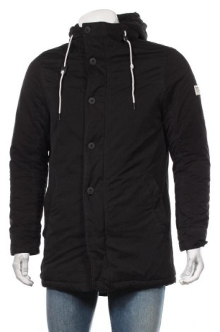 Мъжко яке Tom Tailor, Размер S, Цвят Черен, 75% полиестер, 25% полиамид, Цена 79,80лв.