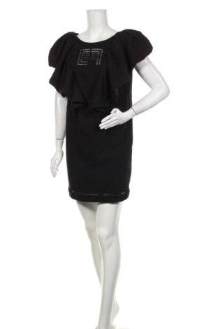 Φόρεμα Elisabetta Franchi, Μέγεθος L, Χρώμα Μαύρο, Βαμβάκι, Τιμή 258,64€