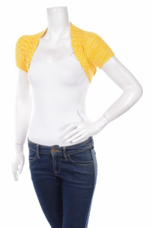 Болеро Vero Moda, Размер S, Цвят Жълт, 55% вискоза, 45% памук, Цена 6,80лв.