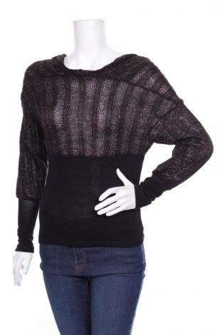 Γυναικείο πουλόβερ, Μέγεθος S, Χρώμα Μαύρο, 95%ακρυλικό, 5% ελαστάνη, Τιμή 6,63€